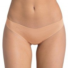 Sloggi slip light cotton string beige front