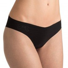 Sloggi slip light cotton tanga black front