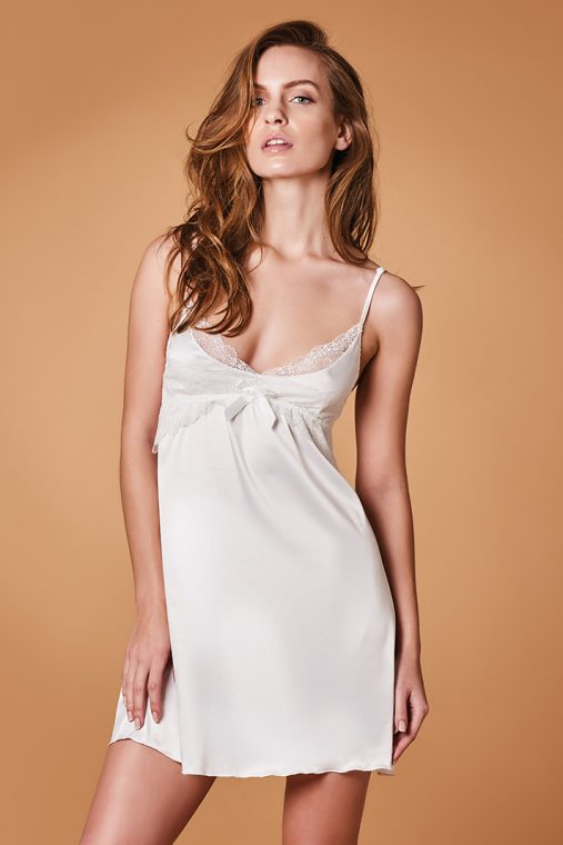 lida bridal nightdress ivory 2589