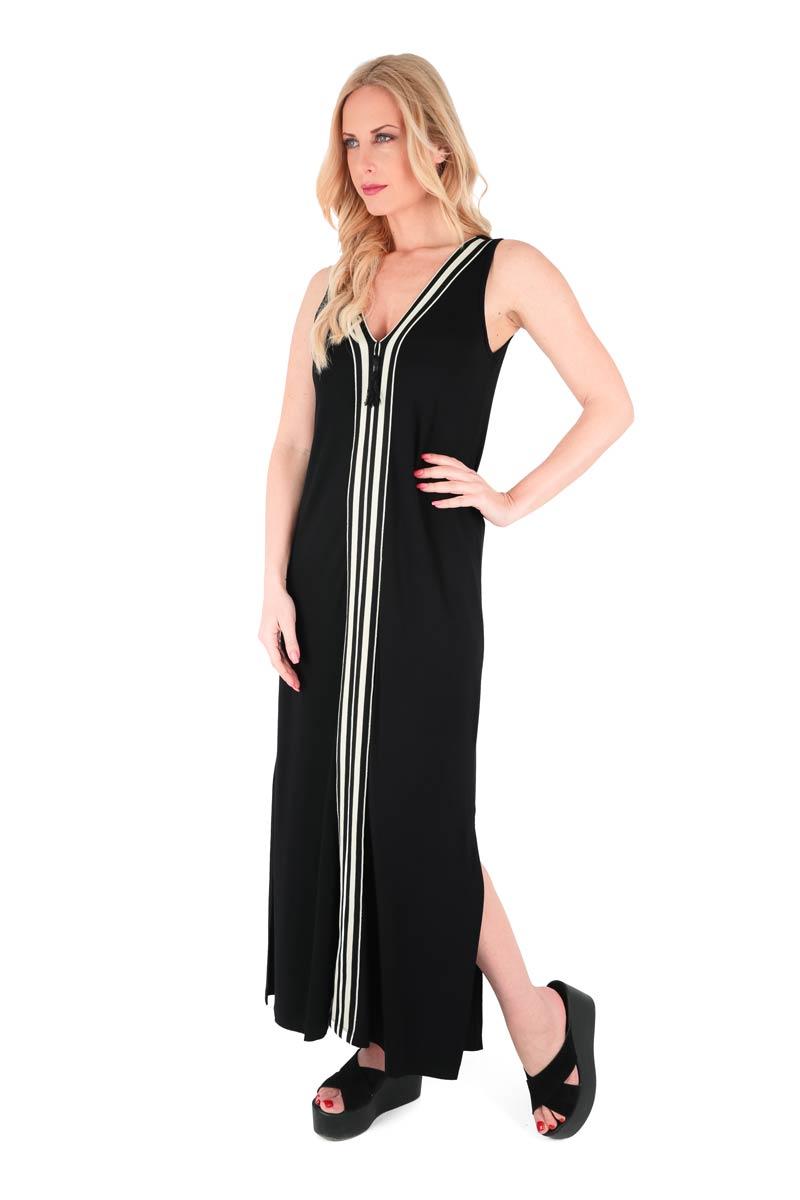ee0a7cab0d1 Claire Katrania Μάξι Φόρεμα Μαύρο (+Μεγάλα Μεγέθη)