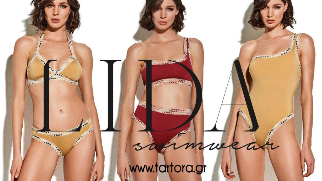 Lida Swimwear ss20 Tartora lingerie